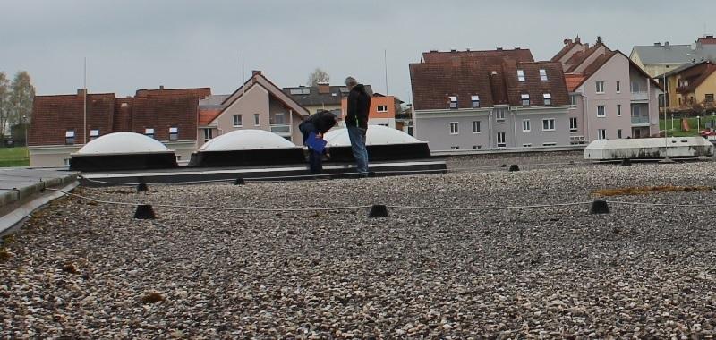 rekonštrukcia plochej strechy začína obhliadkou